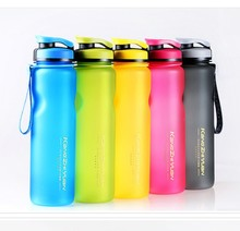 1000ml Plastic Sports Water Bottle Space Kettle Bike Outdoor Cycling Drinkware Fruit Infuser My Water Bottle Shaker Eco-Friendly(China)