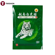 New 1 bag(8pcs)  Vietnam White Tiger Pain Relief Plaster Pain Relieve Patch for Muscle Back Shoulder Pain Balm Rthritis Massage