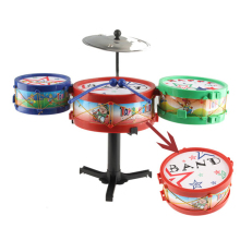 Hot Sell High Quality Children Musical Instruments Toy Drums Toys Drum Kit Gift For Baby Children Set FL