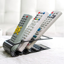 1PC TV DVD VCR Step Remote Control Mobile Phone Holder Stand Storage Holder Caddy Organizer Remote Control Holder