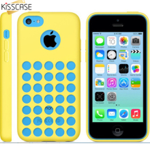 KISSCASE 5C Capa Fresh Colorful TPU Case For iPhone 5C Case Soft Flexible Original Back Shell Cellphone Cover Case For iPhone 5C