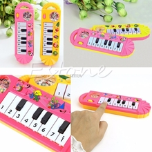 2017 New 1Pc Popular Mini Plastic Keyboard Piano Electronic Kid Toy Instrument Musical may24_11