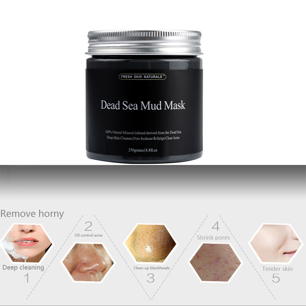 Best Deal New Fashion 250g Women Fask Mud Pure Body Naturals Beauty Dead Sea Mud Mask for Facial Treatment 1pc 6