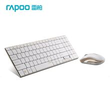 Rapoo 9160 Gold Series Wireless Optical Keyboard & Mouse Combos Super Thin Ergonomic Keyboard Mouse for Laptop PC Games