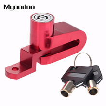 Mgoodoo Motorcycle Bike Bicycle Disc Disk Brake Lock Security Anti-theft Alarm Lock Motorcycle Theft Protection Stainless Alloy