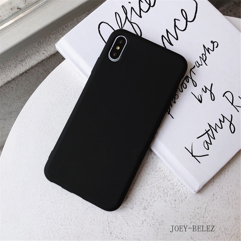 Matte Phone Cases For iPhone 7 Candy Case For iPhone X 7 6 6S 8 Plus 6 6S Case Cover XR XS MXA Coque Silicon Fundas Capa Carcasa16