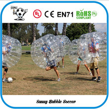 Free Shipping 8pcs (4pcs Red+4pcs Blue+2pc Blower)1.5M  inflatable bubble ball suit, body zorbing games sports. bubble football