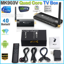 MK903V RK3288 Quad Core Cortex A17 Android  Smart Mini PC TV Stick Ultra HD 4K HDMI WiFi H.264, H.265 BDMV, ISO Android TV BOX