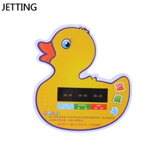 Cartoon LCD Water Temperature Meter Baby Take Shower Thermometer Bath Monitor Tester Toys Safety(China)