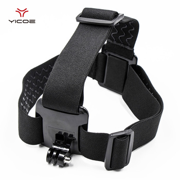 yicoe Elastic Mount Belt Adjustable Head Strap Gopro Hero 6/5/4/3 SJCAM Action Camera