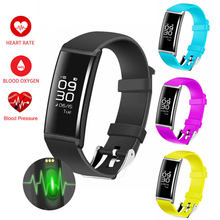 IP67 Smart Watch Pulse Heart Rate Monitor BP Blood Pressure Health Fitness Smartwatch For IOS Android Sony PK G3/U8 Electronics(China)