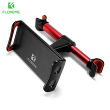 FLOVEME 4-11 inch Alloy Car Phone Holder Back Seat Tablet Bracket 3 in 1 Combo 360 Degree Car Holder For iPhone X 8 iPad mi Pad(China)
