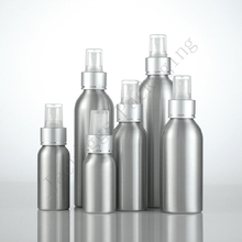 Hot 40/50/100/120/150/250ml Spray Bottle,Small Aluminum Cosmetic Perfume Container With Mist Atomizer,Empty Makeup Sub-bottling