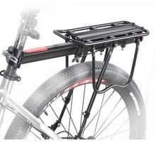 TERAYSUN Aluminum Alloy Bicycle Rear Rack Adjustable Pannier Bike Luggage Cargo Rack Bicycle Carrier Racks