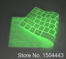 Night Luminous in Dark Great Quality Translucency Soft Silicone Keyboard Cover Skin For Apple MacBook Pro 13 15 Air 11 13 Retina(China)
