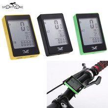 Multifunctional Bike Computer Wireless Bicycle Odometer Speedometer With Touch Button LCD Backlight Cycling Computer Bicicleta
