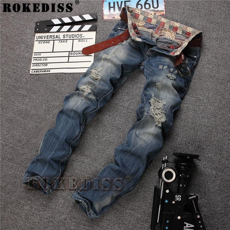 Free shipping 2017 male straight leg denim trousers men fashion brand jeans mens business pants blue jeans men zipper C106Одежда и ак�е��уары<br><br><br>Aliexpress