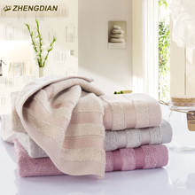Zhengdian 100% cotton toalths  Fast Drying super absorbent bathroom beach products Soft Absorbent air permeability face towels