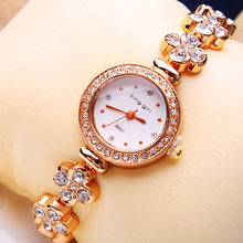 Great Buy 10Pcs/Lot Free Shipping Ladies Pretty Bracelet Watches Round Dial High Quality Special Dress Wristwatches for Women(China)