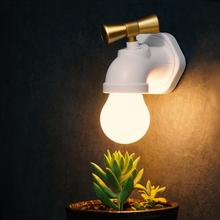 Litake 2017 LED Antique Faucet Tap Long Time Night light Unique Water Tap Shape Lamp Rechargeable Voice Control USB(China)