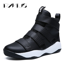 Ryvius Plus Size 39-45 Men Basketball Shoes Sport Cushion Sneakers Outdoor Athletic Ankle Boots High Top Training Basket Lebron(China)