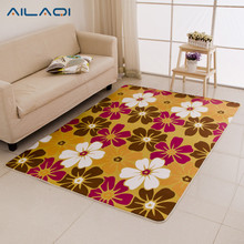 AILAQI 8 colors optional a variety of sizes do not fade carpet anti-sliding door floor pad bedroom living room carpet(China)