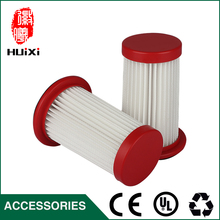 1 PCS  white hepa air filter cartridge for vacuum cleaner parts replacement hepa filter for FC8198  FC8199