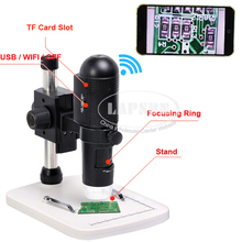 1080P FULL HD WIFI & USB Digital Microscope for ios Phone Pad Android Tablet Samsung Video Photo 10x~200x Magnification Camera