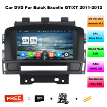 "7"" Octa Core Android 6.0 Special Car DVD for Buick Excelle XT/G 2011-2012 with 1024*600 Resolution & External DAB+ Tuner Support"