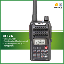 High Quality MYT 5W Handheld VHF 136-174MHZ Portable Ham Amateur Transceiver V83