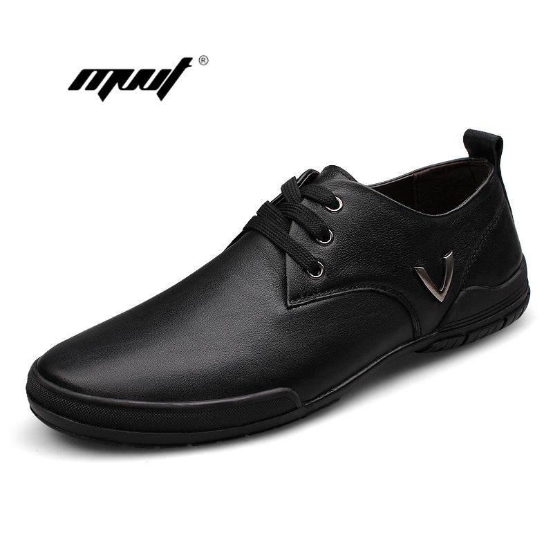 MVVT Brand Men Casual shoes High Quality Plus Size Men Genuine Leather Shoes Luxury Brand Shoes Men<br>