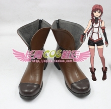 Grimgar of Fantasy and Ash Yume Cosplay Boots shoes shoe boot  #AT135 Halloween