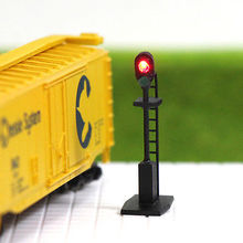 JTD1604RG 5PCS N scale LEDs made Railroad Signals for Railway signal 2 Aspects