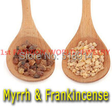 High Quality Myrrh and Frankincense Resin Organic PREMIUM NATURAL Tears Gum for Incense and Therapeutic 100gram Free Shipping(China)