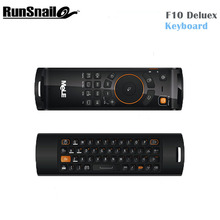 2017 MeLe F10 Deluxe 2.4GHz Wireless Gaming Remote Keyboards Fly Air Mouse Remote Controller For Smart Android Tv Boxs Mini Pc