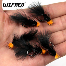 Insect Bait Streamer Fly Leech Woolly Egg-Sucking Fly Fishing Artificial Black Nymph