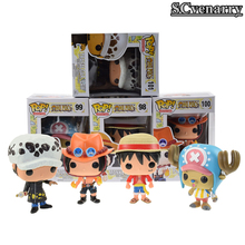 Funko Pop One Piece Figure Luffy Chopper Ace Action & Toy Figures Collection Toy Baby Toys