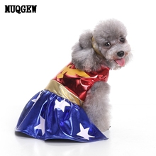 MUQGEW Dog Clothes For Small Dogs Winter Dresses Coat Pet Dog Clothes Winter Chihuahua Pets Accessories Costume Cachorro Roupa(China)