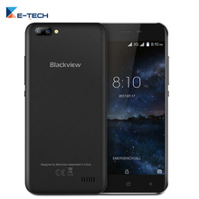 Blackview A7 Dual Rear Camera 5.0 inch Smartphone Android 7.0 MT6580A Quad Core Cellphone 1GB RAM 8GB ROM 3G Mobile Phone(China)