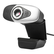 HXSJ A871 Clip-on 360 Degree USB 12 Megapixel HD Web Camera with Microphone to the Computer Webcam for Desktop Laptop Notebook