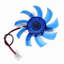 10 Pieces Gdstime 75mm 12V DC GPU Cooling Solutions Graphics Fans Heatsink Video Card Cooler Plastic VGA Fan for Computer