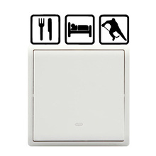 Simple Eat Sleep Hockey Vinyl Switch Stickers Wall Decals 5WS0398(China)