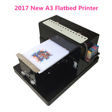 Hot sales A3 size T-shirt Flatbed printer Digital Printing machine for printing T-shirt Cloth With High quality