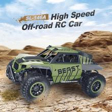 Buy new RC Military Truck Army SL-146A 1:18 Rock Off-Road Racing Vehicle Crawler Truck 2.4Ghz 4WD RC Truck RTR Toy for $56.65 in AliExpress store