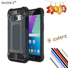 HATOLY Cover Samsung Galaxy A3 2017 Case Silicon Rubber Hard Phone - Official Store store