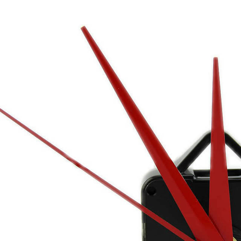 Mayitr Wall Clock DIY Repair Tool Red Hands Quartz Clock Movement Mechanism Parts Kit Replacement Essential Tools