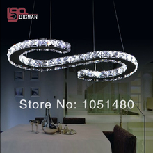 hot sales lustre S design contemporary LED pendant lamp ,modern home lighting(China)