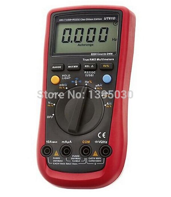 30pcs/lot UT-61D Handheld Digital Multimeters UT61D<br><br>Aliexpress