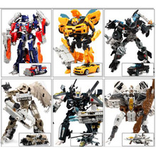 2017 Kids Transformation Classic Action figure Toys Robot Cars Planes For Children Price for 1pcs