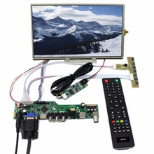 TV/HDMI/VGA/AV/USB/AUDIO LCD controller Board 10.1inch B101XAN01.3 IPS lcd panel with Touch Screen(China)